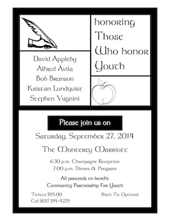 Honoring Those Who Honor Youth – 2014