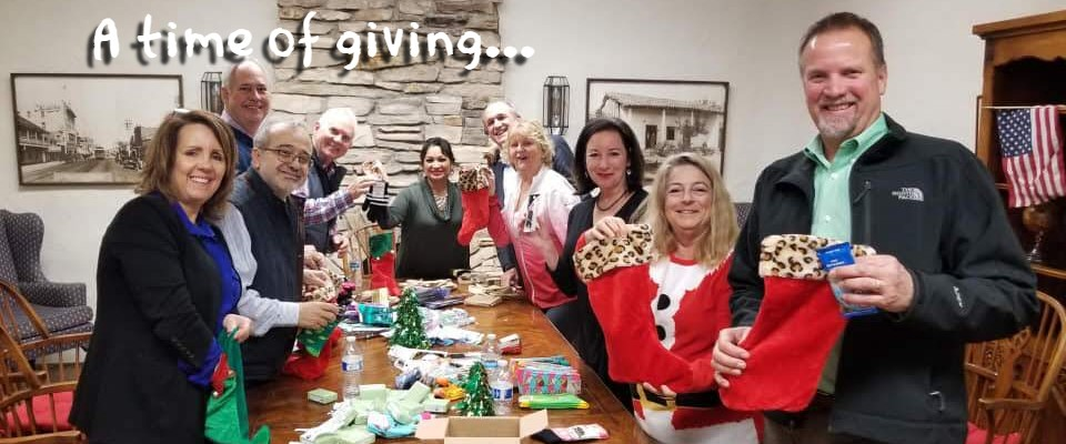 A Time of Giving